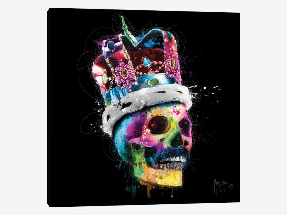 Freddie Mercury Skull by Patrice Murciano 1-piece Canvas Artwork