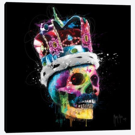 Freddie Mercury Skull Canvas Print #PMU17} by Patrice Murciano Canvas Print