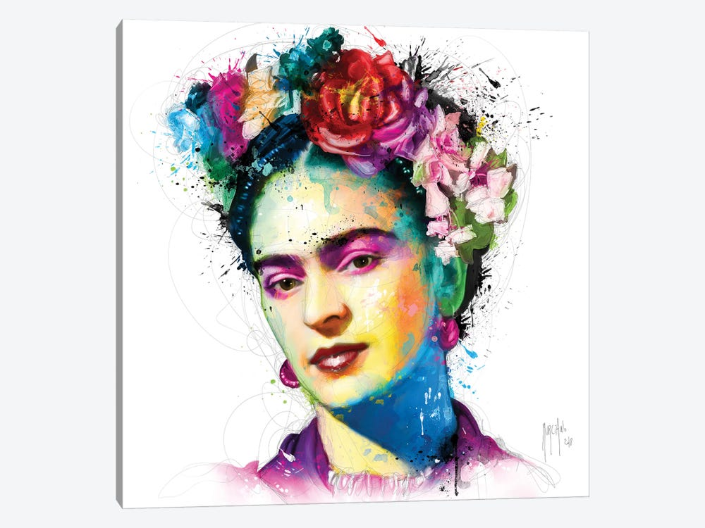 Frida Kahlo 1-piece Canvas Print