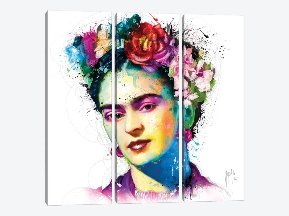 Frida Kahlo 3-piece Canvas Art Print
