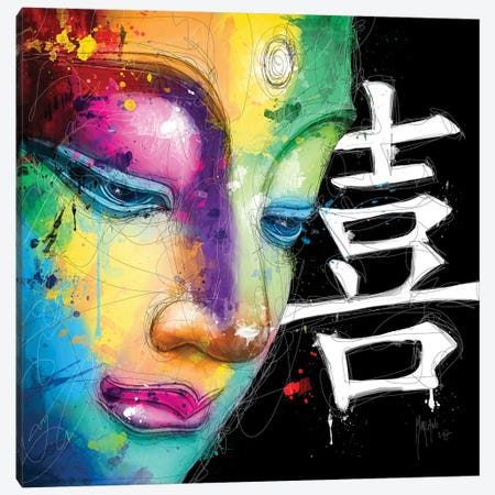 Happiness Canvas Print #PMU19} by Patrice Murciano Canvas Wall Art