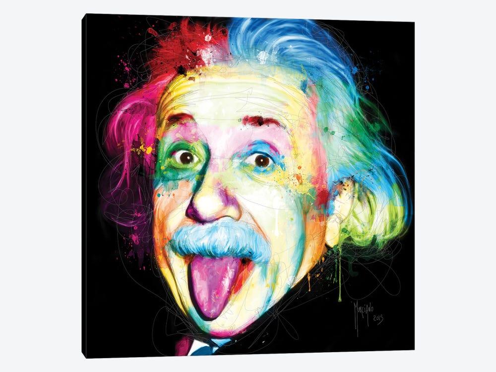 Albert Einstein by Patrice Murciano 1-piece Canvas Art