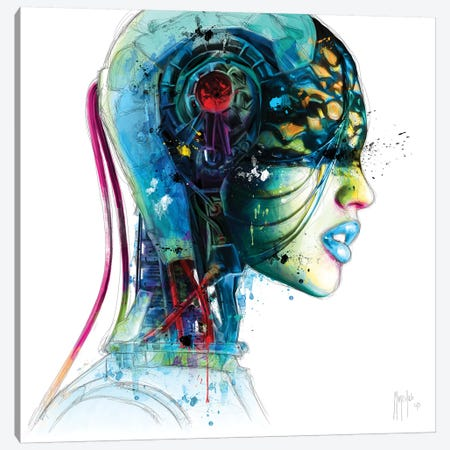 I.A Canvas Print #PMU20} by Patrice Murciano Canvas Print
