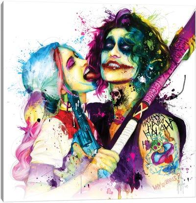 Joker Harley Quinn Canvas Art Print