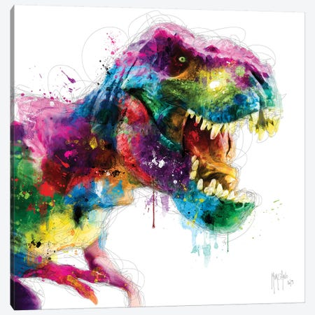 Jurrassic Pop Canvas Print #PMU22} by Patrice Murciano Canvas Print