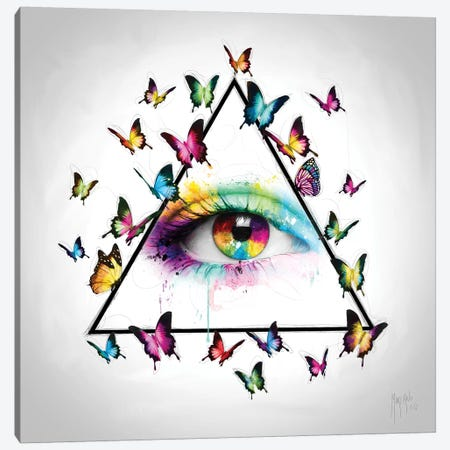 L'oeil De La Providence Canvas Print #PMU27} by Patrice Murciano Canvas Wall Art