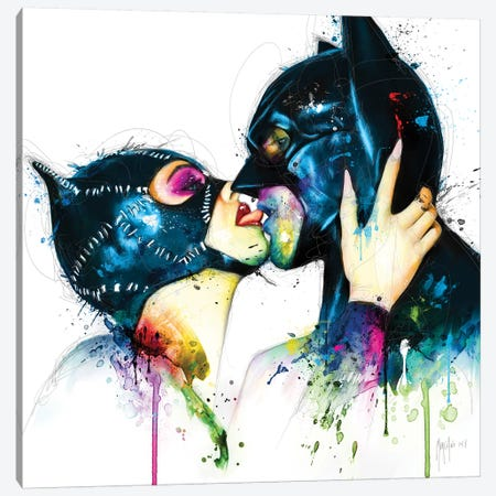 Love In Gotham Canvas Print #PMU28} by Patrice Murciano Canvas Print