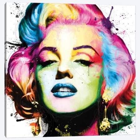 Marilyn Canvas Print #PMU29} by Patrice Murciano Canvas Print
