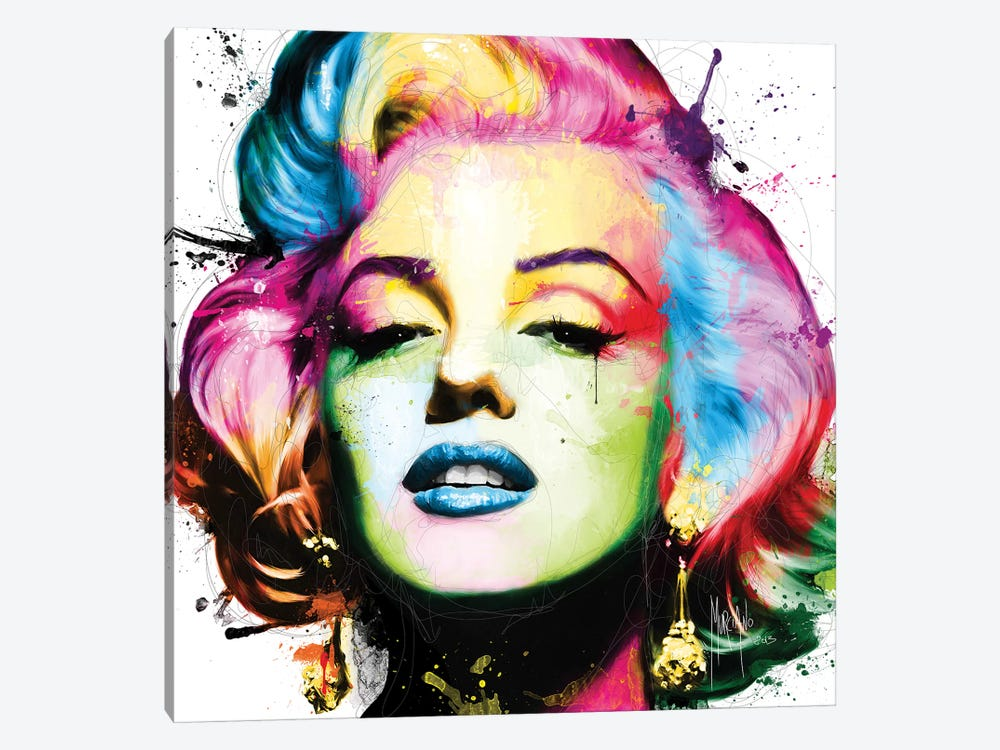 Marilyn by Patrice Murciano 1-piece Canvas Art Print