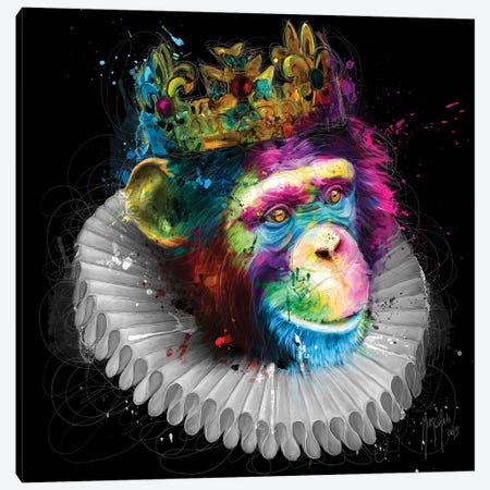 Monking 3-Piece Canvas #PMU30} by Patrice Murciano Canvas Artwork
