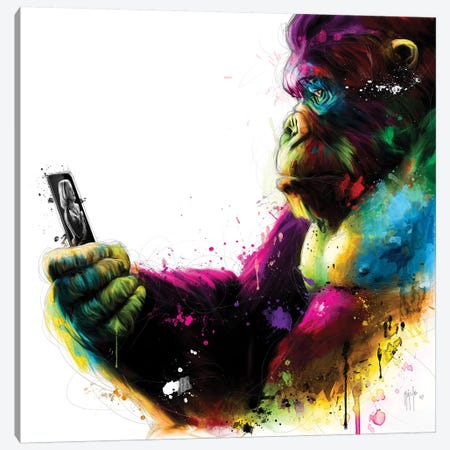 New Kong Canvas Print #PMU32} by Patrice Murciano Canvas Wall Art
