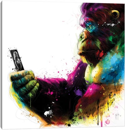New Kong Canvas Art Print
