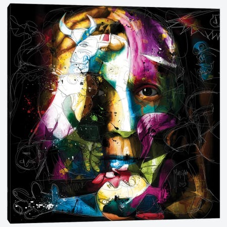 Picasso Canvas Print #PMU33} by Patrice Murciano Canvas Wall Art