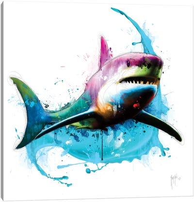 Shark Canvas Art Print