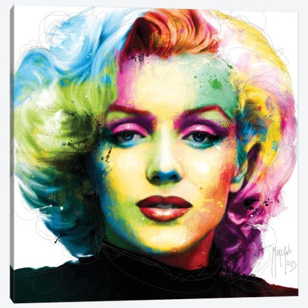 Sweet Marilyn Canvas Print #PMU39} by Patrice Murciano Canvas Artwork