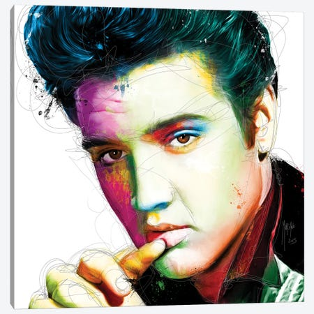 The King Canvas Print #PMU40} by Patrice Murciano Canvas Print