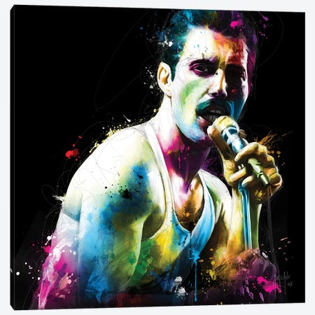 The Show Must Go On Canvas Print #PMU41} by Patrice Murciano Canvas Art Print