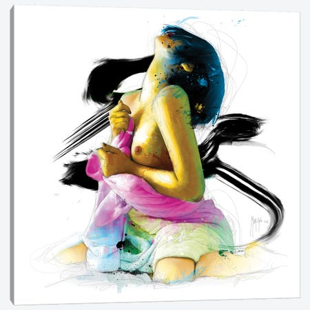 Under Pleasure Canvas Print #PMU43} by Patrice Murciano Art Print