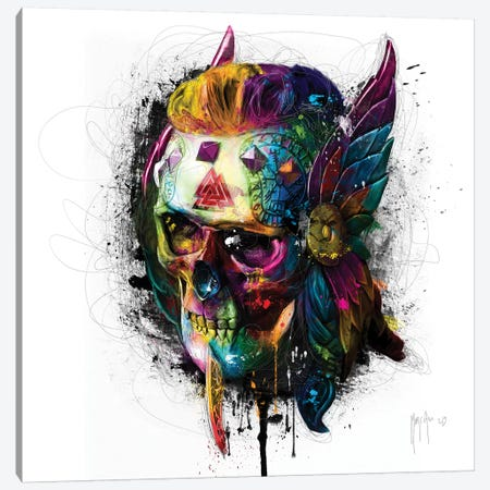 Viking Canvas Print #PMU44} by Patrice Murciano Canvas Wall Art
