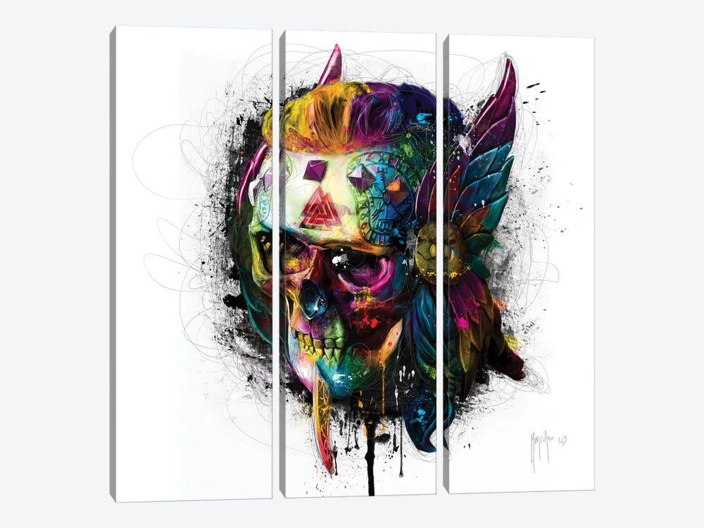 Viking by Patrice Murciano 3-piece Canvas Art