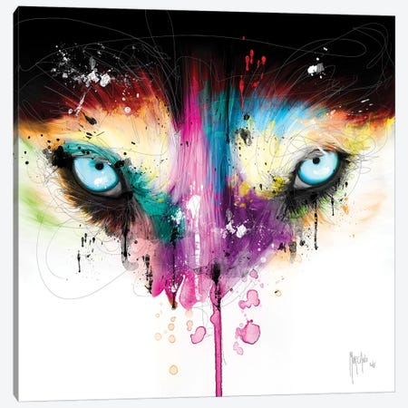 Across My Look Canvas Print #PMU49} by Patrice Murciano Art Print