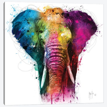 Africa Pop Canvas Print #PMU50} by Patrice Murciano Canvas Art