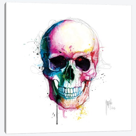 Angels Skull Canvas Print #PMU53} by Patrice Murciano Canvas Art