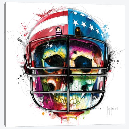 Born In The USA Canvas Print #PMU55} by Patrice Murciano Canvas Print