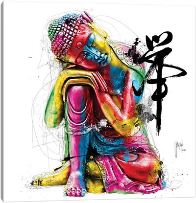Bouddha Feng Shui Canvas Art Print