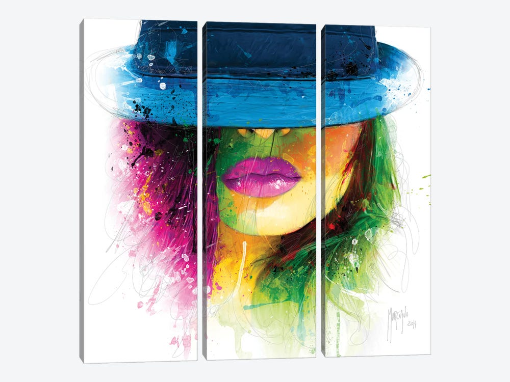 Coco by Patrice Murciano 3-piece Canvas Art
