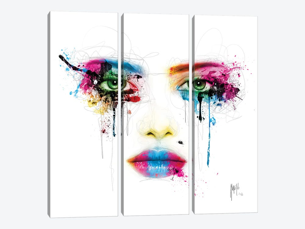 Colors by Patrice Murciano 3-piece Art Print