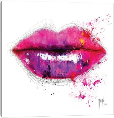 Colors Of Kiss Canvas Art Print
