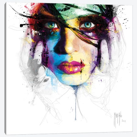Coralie II Canvas Print #PMU67} by Patrice Murciano Canvas Art