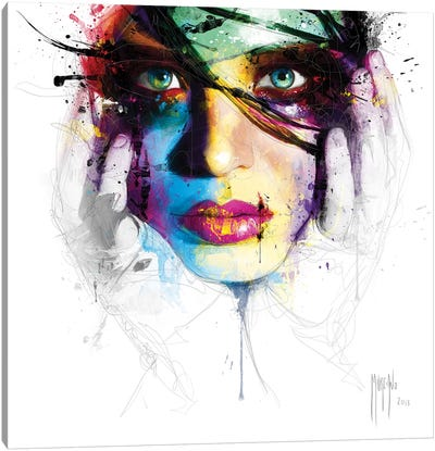 Coralie II Canvas Art Print