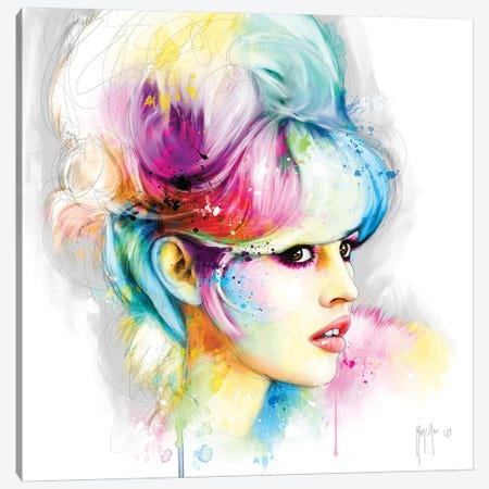 Bardot Canvas Print #PMU6} by Patrice Murciano Canvas Art