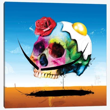 Dali Skull Canvas Print #PMU73} by Patrice Murciano Canvas Art
