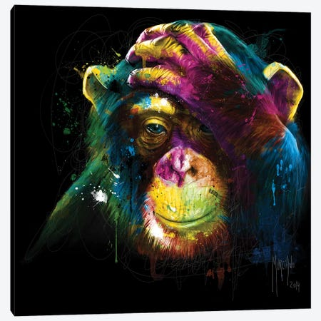 Darwin's Preoccupations Canvas Print #PMU74} by Patrice Murciano Art Print