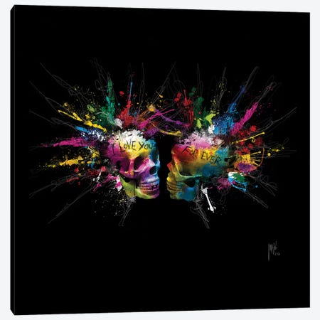 Eternal Lovers Canvas Print #PMU78} by Patrice Murciano Canvas Wall Art