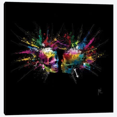 Eternal Lovers Canvas Print #PMU78} by Patrice Murciano Canvas Wall Art