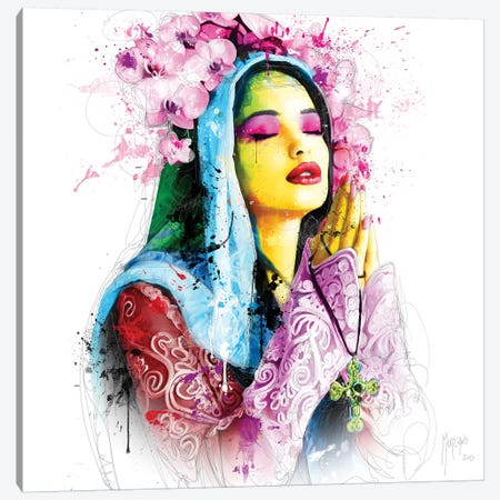 Faith Canvas Print #PMU79} by Patrice Murciano Canvas Artwork