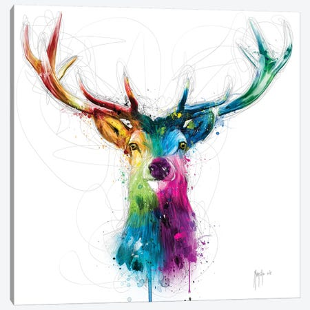 Free And Wild Canvas Print #PMU81} by Patrice Murciano Art Print