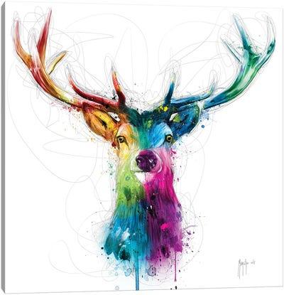 Free And Wild Canvas Art Print