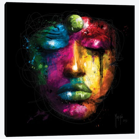 Gaia 3-Piece Canvas #PMU87} by Patrice Murciano Canvas Art