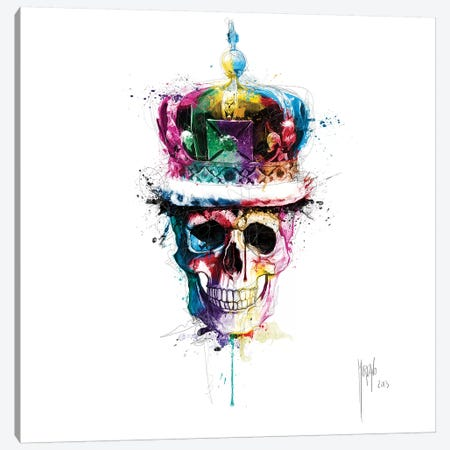 God Save The Queen Canvas Print #PMU88} by Patrice Murciano Canvas Print