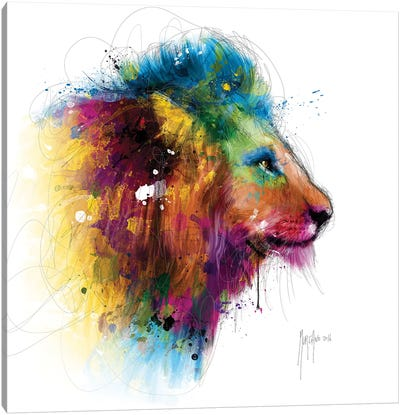 Jungle's King Canvas Art Print