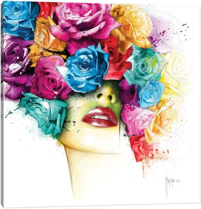 La Vie En Roses Canvas Art Print