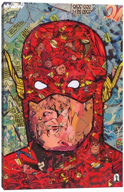 Vertical Flash Canvas Art Print