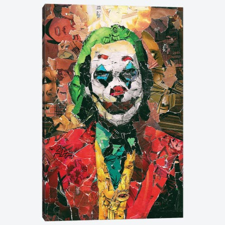 Put On A Happy Face Canvas Print #PMY5} by p_ThaNerd Canvas Art