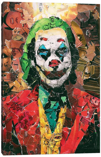 Put On A Happy Face Canvas Art Print