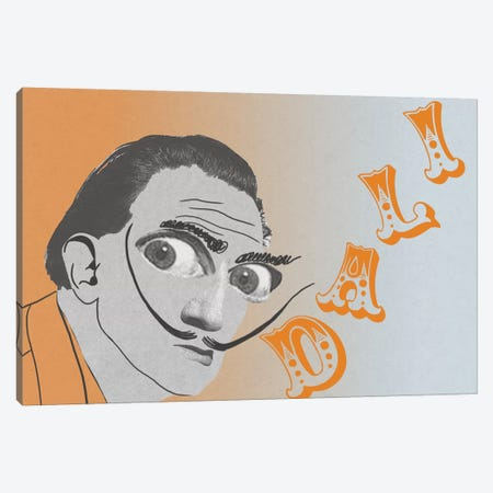 Dali Visions Canvas Print #PNA6} by 5by5collective Canvas Artwork